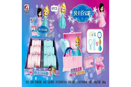 Princess Music Box Toys