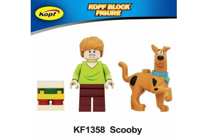 KF1358 Scooby with dog figure